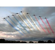 Red Arrows - Arrival Photographic Print
