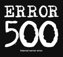 Error 500. Internal server error. by FrontierMM