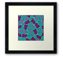 Paisley colorful Framed Print