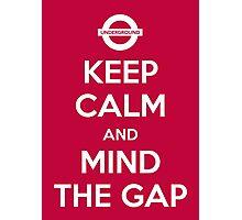 Mind the Gap Photographic Print