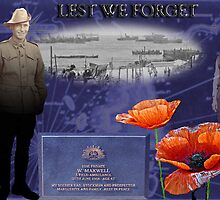 Lest We Forget by MarionFay