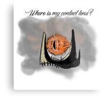 Blind Sauron Metal Print
