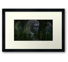 Faelora of the Forest Framed Print