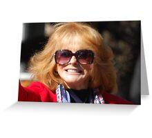 Beautiful Ann-Margaret Greeting Card
