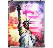 Patriotic Lady of Liberty iPad Case/Skin