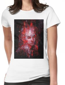 It's cold again Womens Fitted T-Shirt