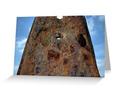 Monolith to Rust Greeting Card