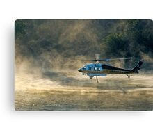 Pumping water Canvas Print
