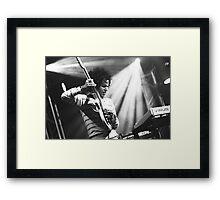 Omar Rodriguez Lopez / Mars Volta Framed Print