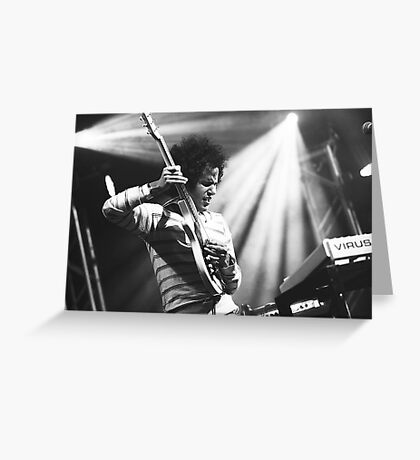 Omar Rodriguez Lopez / Mars Volta Greeting Card