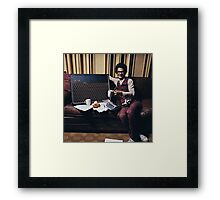 Omar And His Vox Framed Print