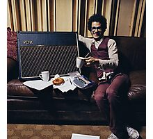 Omar And His Vox Photographic Print