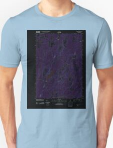 Maine USGS Historical Map Palermo 20110910 TM Inversion T-Shirt