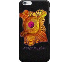 Space Muscles iPhone Case/Skin