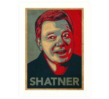 SHATNER Art Print