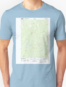 Maine USGS Historical Map Palermo 20110910 TM T-Shirt