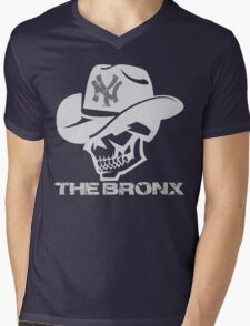 the bronx skull - ny new york Mens V-Neck T-Shirt