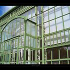 Greenhouse in the Vienna's park - View 3 by Roberta Angiolani
