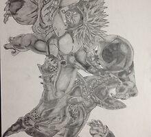 Finished dragonball z villains  by spudzuk