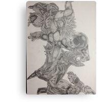 Finished dragonball z villains  Metal Print