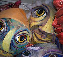 RED PEPPER SPETACLE ARTS IN KENSINGTON MARKET TORONTO by Linda Arthurs
