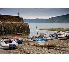 Clovelly Harbour Photographic Print