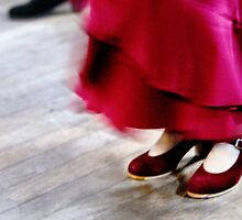 Red Shoes by natureshues