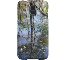 Still More Swamp Reflections Samsung Galaxy Case/Skin