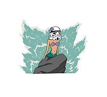 Disney Star Wars 'The Little Storm Trooper'  Photographic Print