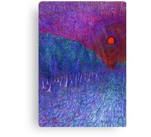 In Road Canvas Print