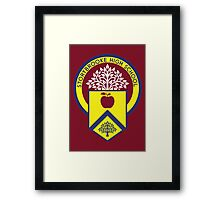 Once Upon a Time - Storybrooke High School Framed Print