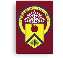 Once Upon a Time - Storybrooke High School Canvas Print
