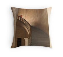 Graceful Stairway Throw Pillow