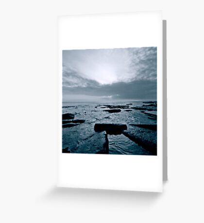 Dunraven Bay Greeting Card