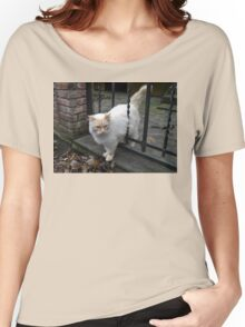 Fluffy Kitty Women's Relaxed Fit T-Shirt