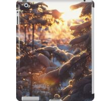 Magical winter forest iPad Case/Skin