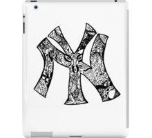 NY Yankees zentangle iPad Case/Skin