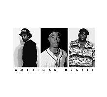 American Hustle (Black) Photographic Print