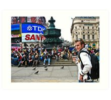 Busy Picadilly Art Print