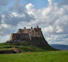 Lindisfarne Castle by N. E. Phillips