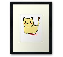 Pikacat Framed Print