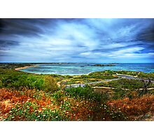 Peron from the lookout Photographic Print