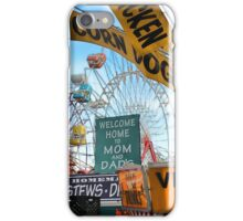 Ferris Wheels and Fried Dough (Fryeburg Fair) iPhone Case/Skin