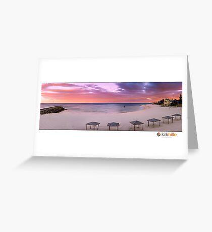 Cottesloe Sunrise Greeting Card