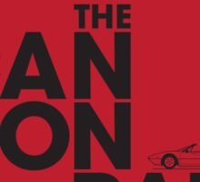 The Cannonball Run - Ferrari 308 GTS Sticker