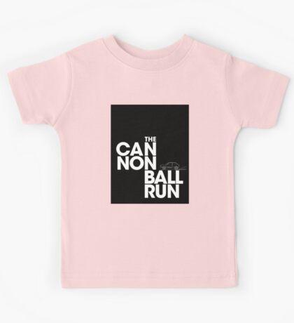 The Cannonball Run - Subaru GL Kids Tee
