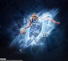 """Carmelo Anthony """"Melo"""" by nbadesigns"""