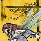 Fairy on Yellow by BanjoCult