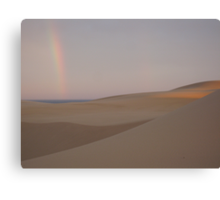 Nature at it's Best: Rainbow Canvas Print