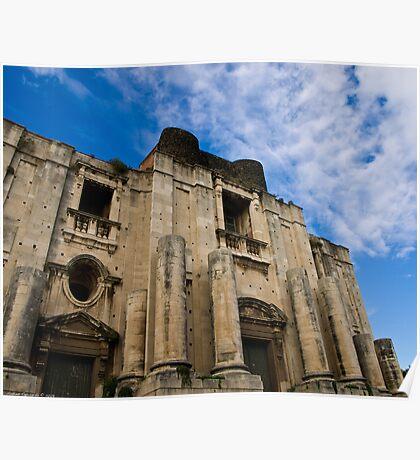 St. Nicola church, Catania  Poster